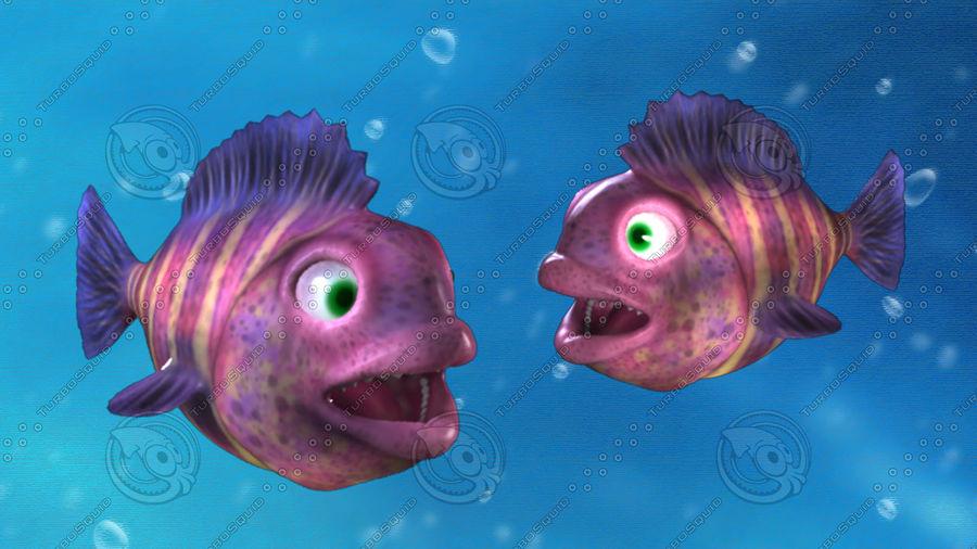 cartoon underwater scene rigged animated 3d model - 900×506