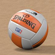 Beach-Volleyball 3d model