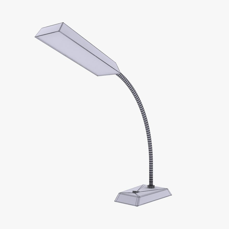 Table Lamp royalty-free 3d model - Preview no. 8