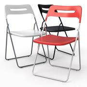 NISSE Folding Dining chair 3d model