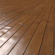 Wood Flooring (TILEABLE) 3d model