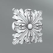 Square Decoration 3d model