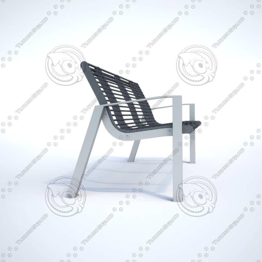 Bench BABIA 3D Model $14 -  obj  max  dwg  3ds - Free3D