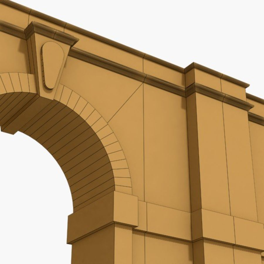 Arch 002-1 royalty-free 3d model - Preview no. 5