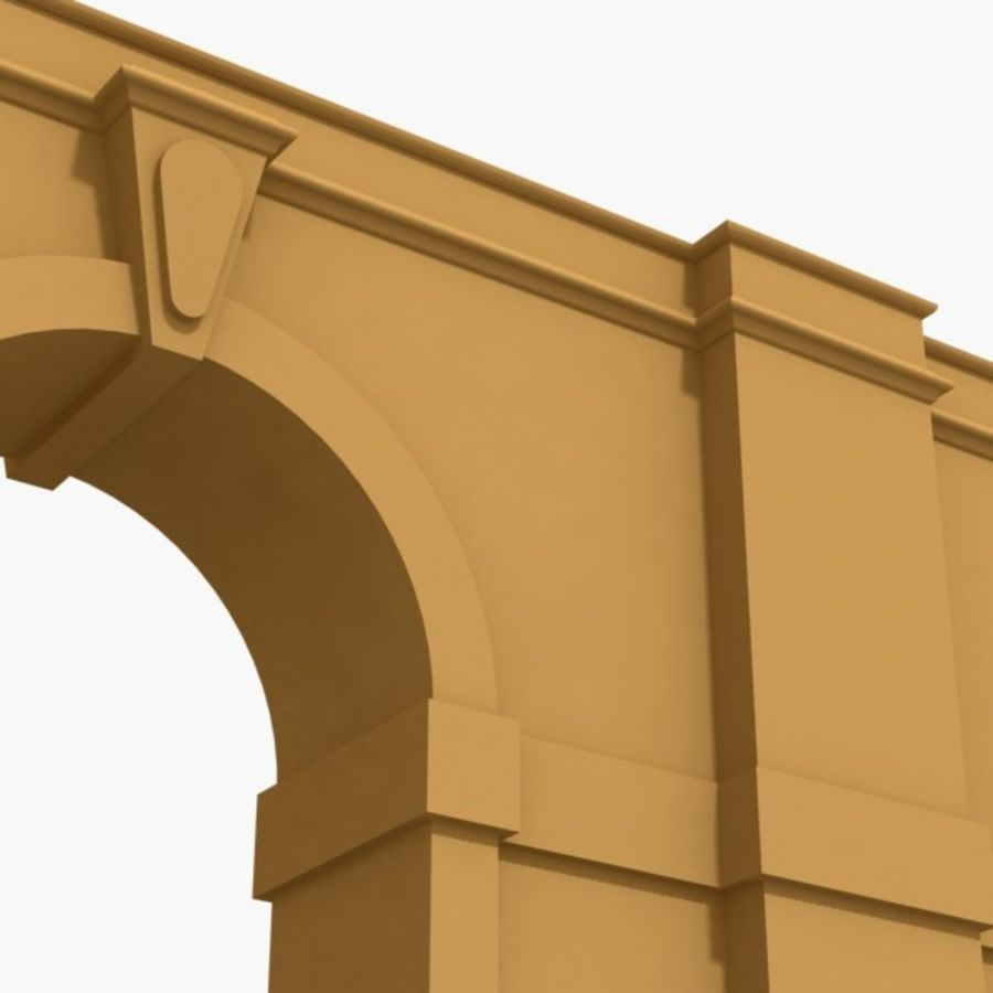 Arch 002-1 royalty-free 3d model - Preview no. 4