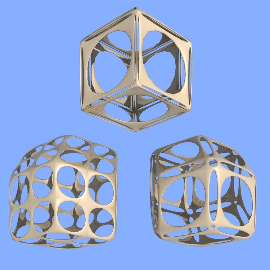 Geometric Shape MHT-06 royalty-free 3d model - Preview no. 3