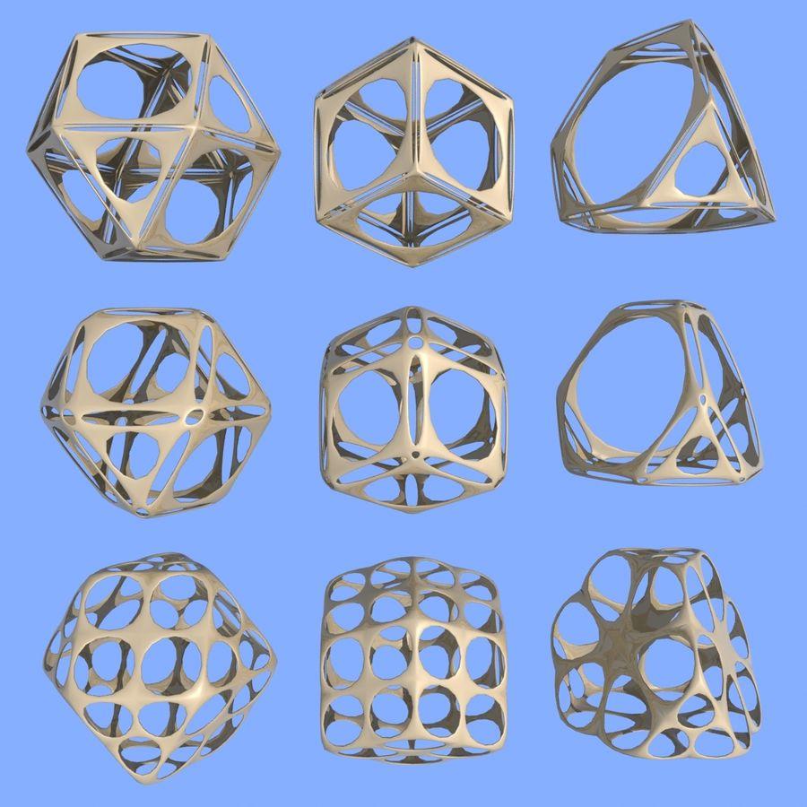 Geometric Shape MHT-06 royalty-free 3d model - Preview no. 1