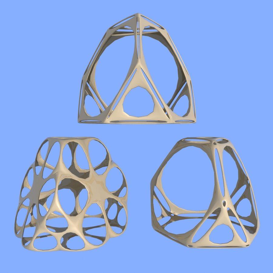 Geometric Shape MHT-06 royalty-free 3d model - Preview no. 4