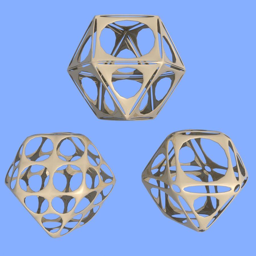 Geometric Shape MHT-06 royalty-free 3d model - Preview no. 2
