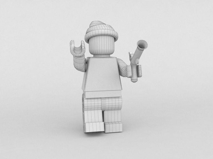 Pirackie postacie lego royalty-free 3d model - Preview no. 27
