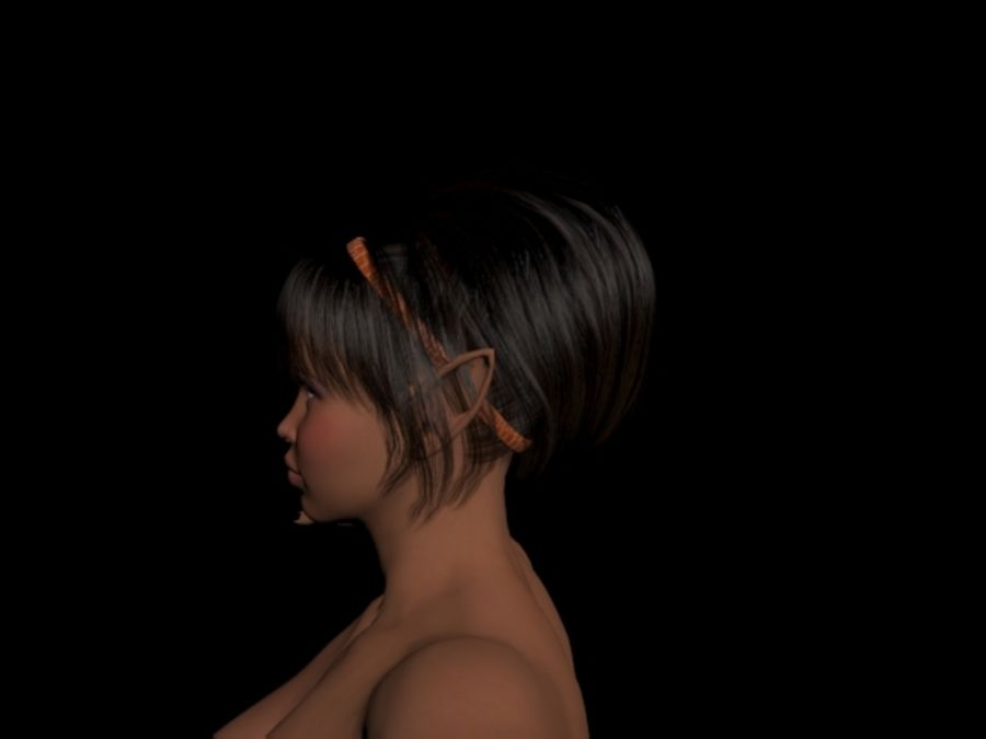 Drow Elf Nude (FBX 2011) 3D Model $10 -  fbx - Free3D