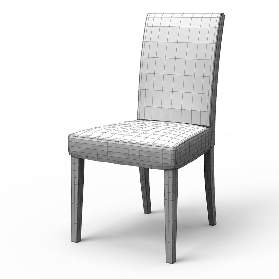 HENRIKSDAL Skiftebo Dining chair royalty-free 3d model - Preview no. 8