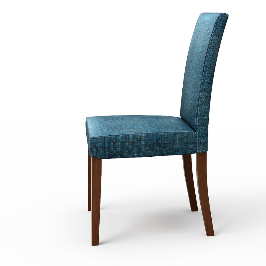 HENRIKSDAL Skiftebo Dining chair royalty-free 3d model - Preview no. 4