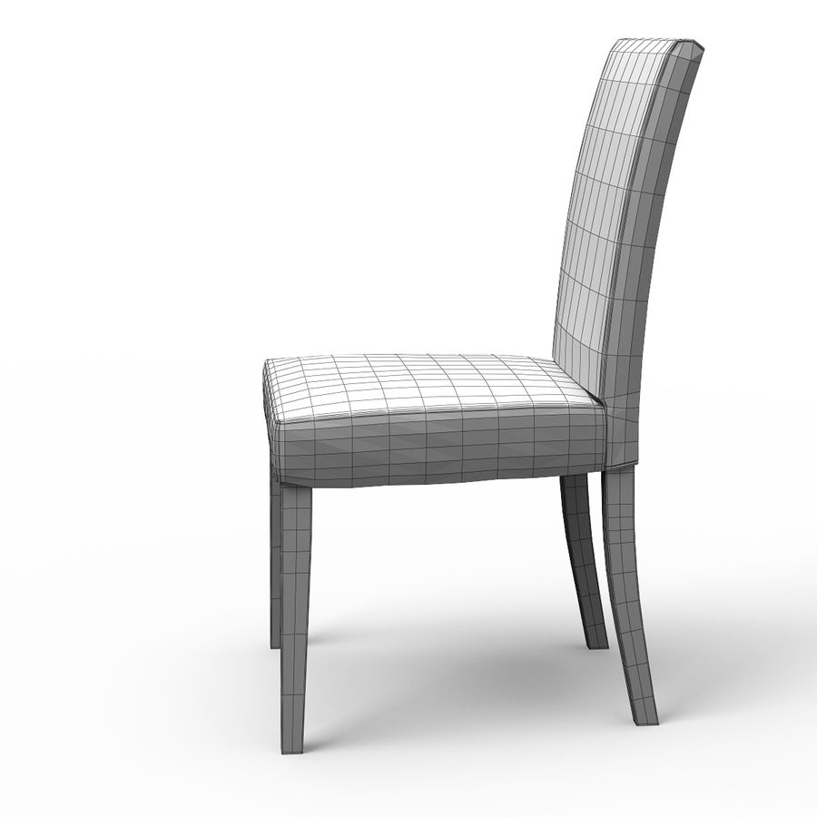 HENRIKSDAL Skiftebo Dining chair royalty-free 3d model - Preview no. 10