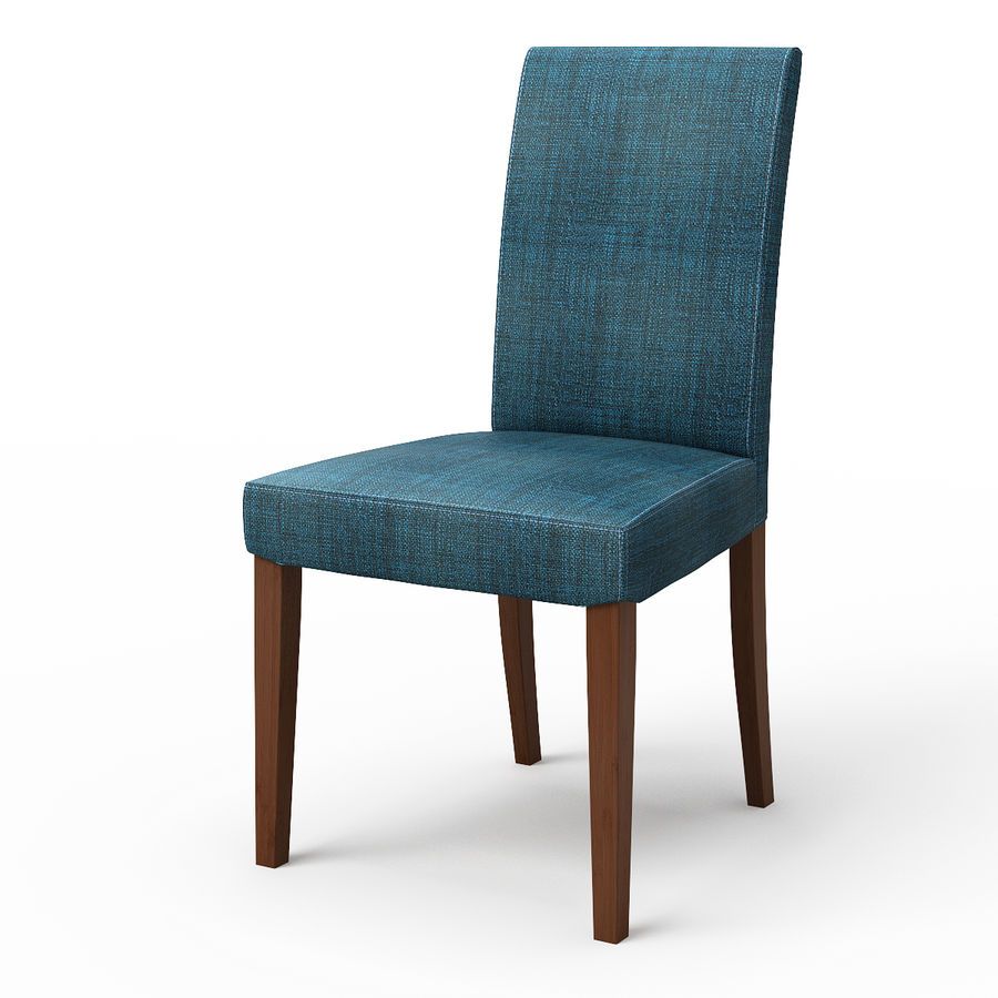 HENRIKSDAL Skiftebo Dining chair royalty-free 3d model - Preview no. 2