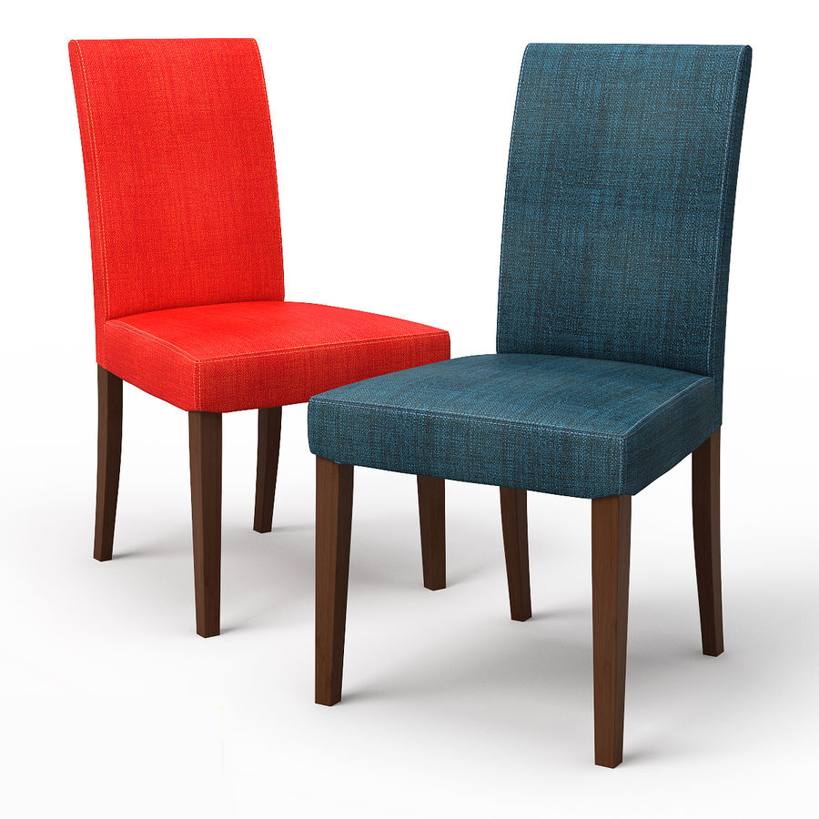 HENRIKSDAL Skiftebo Dining chair royalty-free 3d model - Preview no. 1