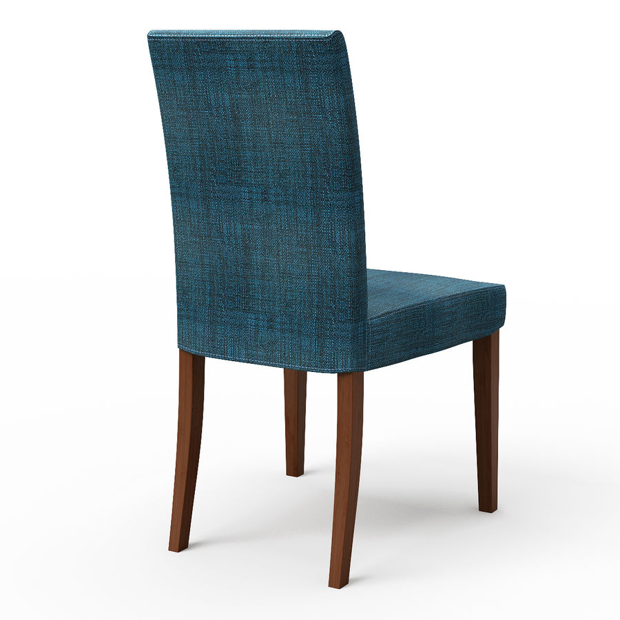 HENRIKSDAL Skiftebo Dining chair royalty-free 3d model - Preview no. 3