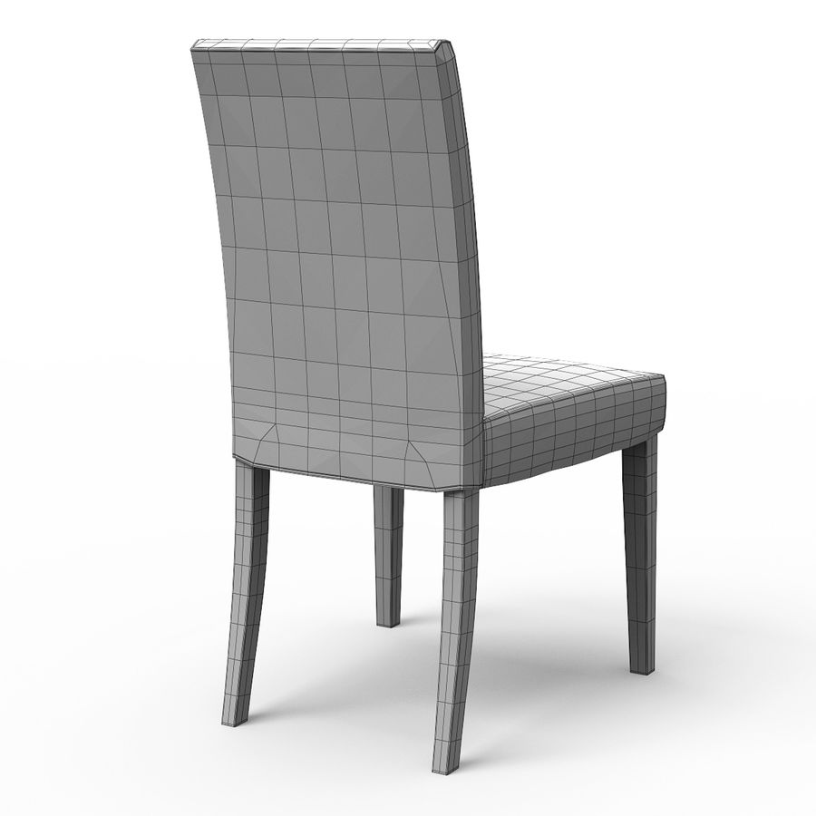 HENRIKSDAL Skiftebo Dining chair royalty-free 3d model - Preview no. 9