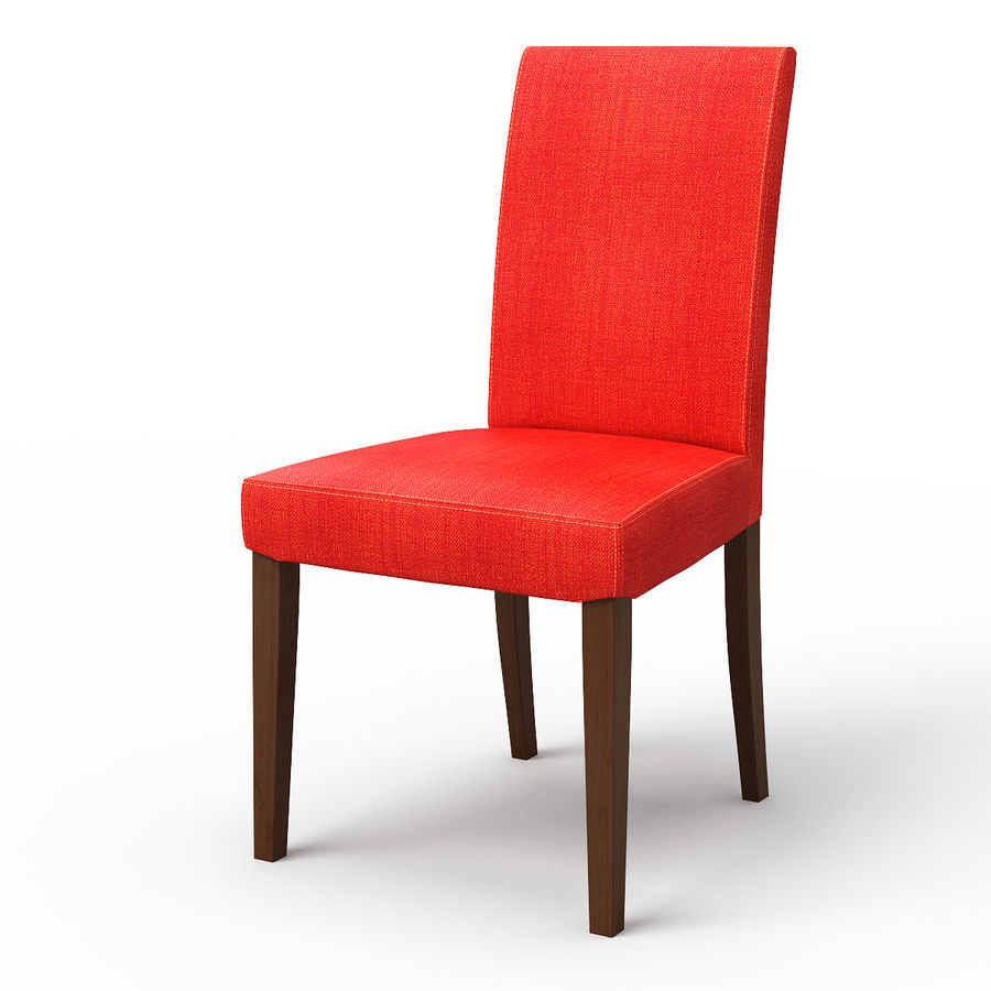 HENRIKSDAL Skiftebo Dining chair royalty-free 3d model - Preview no. 5