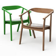 STOCKHOLM Dining chair 3d model