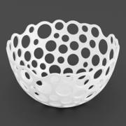 Perforated Bowl 02 3d model