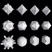 Geometrisk form MHT-01 3d model