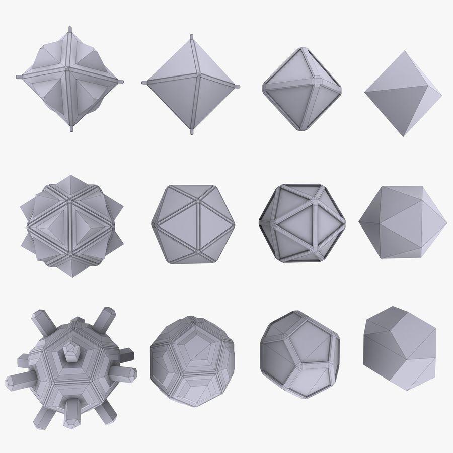 Geometric Shape MHT-01 royalty-free 3d model - Preview no. 5