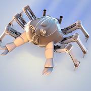 Crab robot 3d model