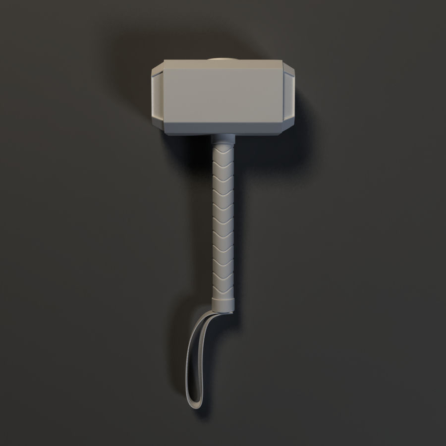 Weapons Pack - Melee 1 royalty-free 3d model - Preview no. 5