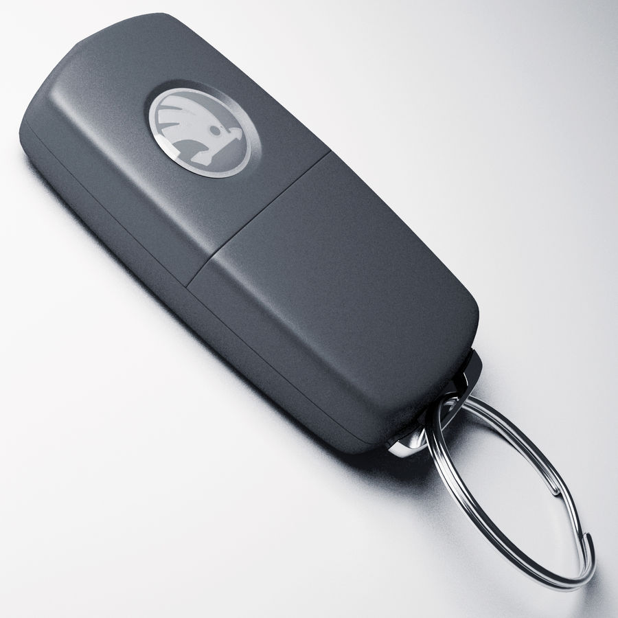 car key royalty-free 3d model - Preview no. 5