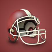 Collezione Football Helmet 3d model