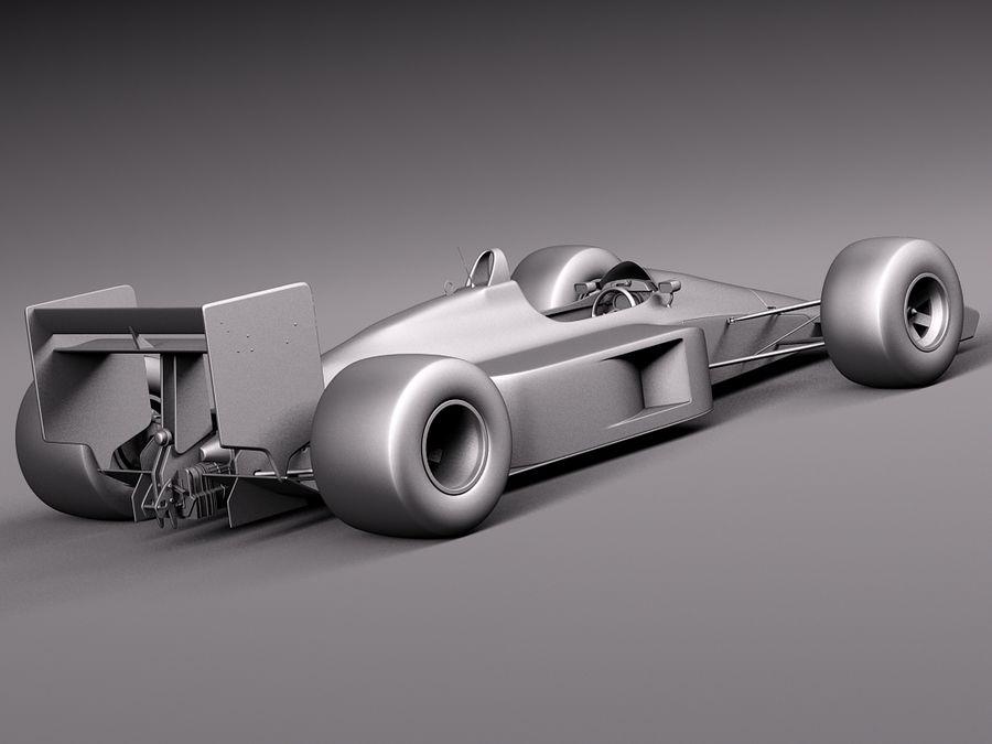 McLaren Honda Mp4-4 Ayrton Senna F1 royalty-free 3d model - Preview no. 13
