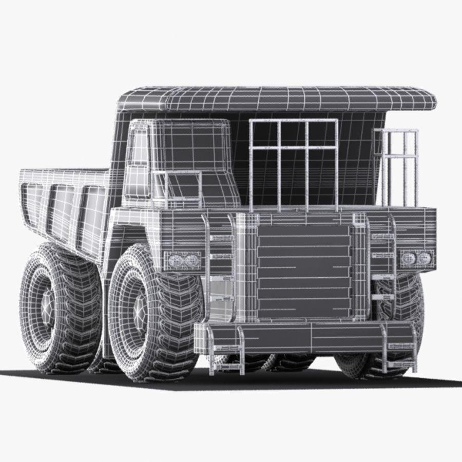 Cartoon Haul Truck royalty-free 3d model - Preview no. 11