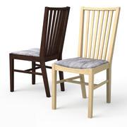 NORRNAS Krzesło do jadalni DĄB 3d model