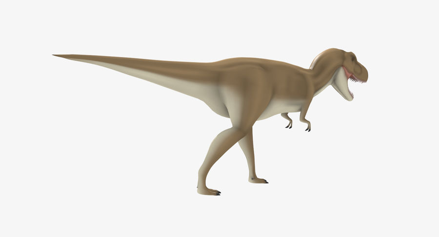 T-REX royalty-free 3d model - Preview no. 3