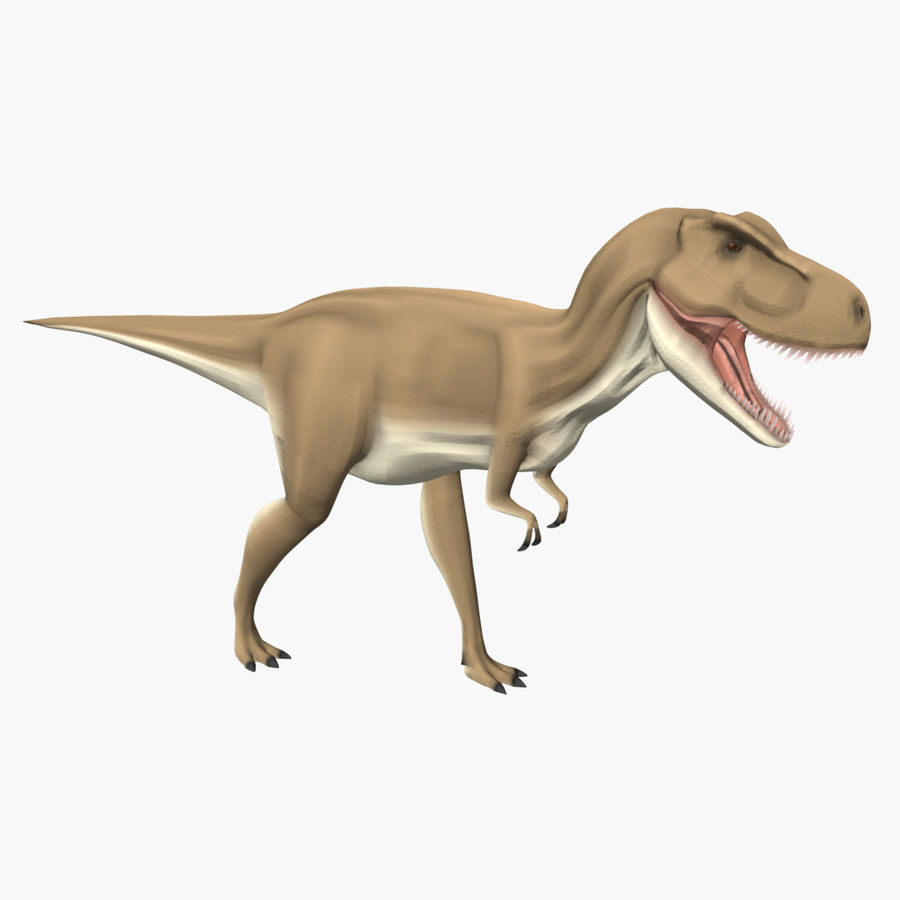 T-REX royalty-free 3d model - Preview no. 4