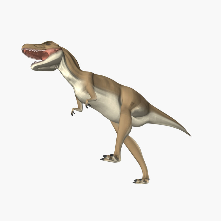 T-REX royalty-free 3d model - Preview no. 7