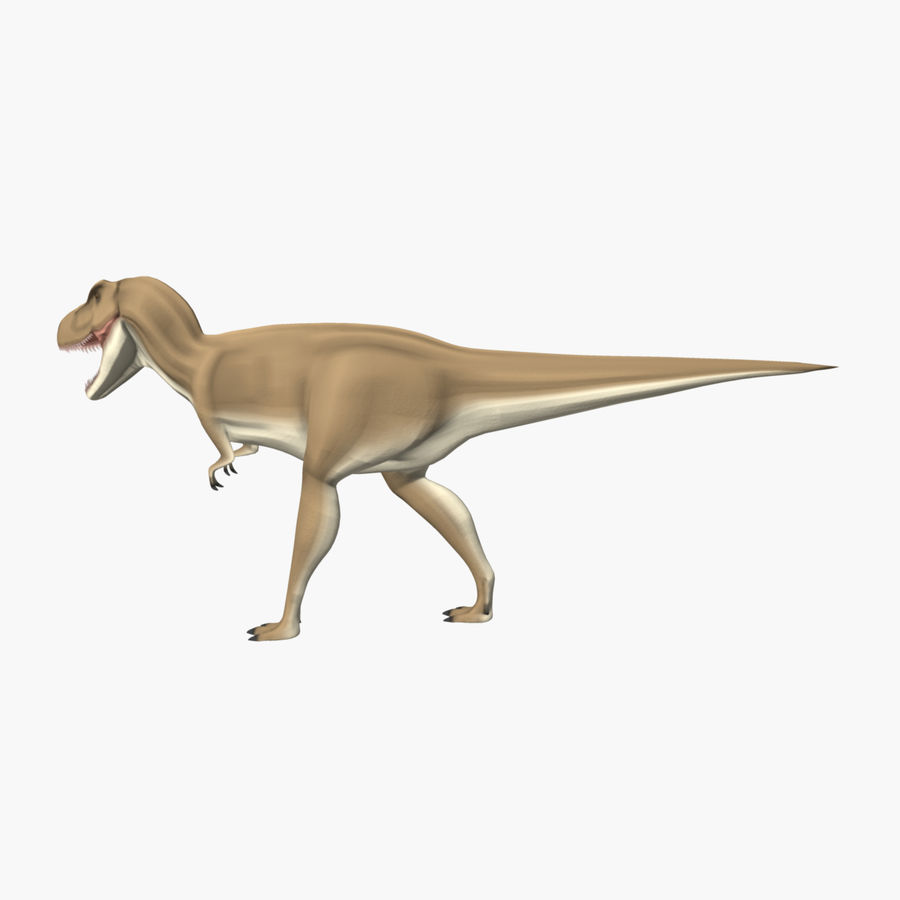 T-REX royalty-free 3d model - Preview no. 5