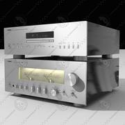 Yamaha Stereo S3000 3d model