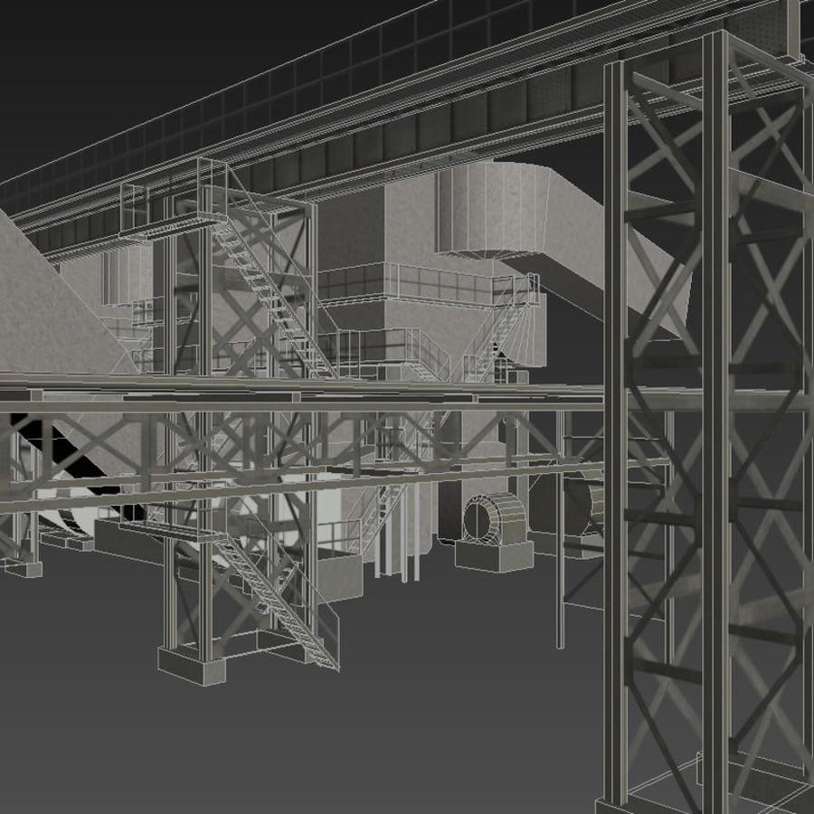 Industrial element 01 3D Model $9 -  fbx  ma  max - Free3D
