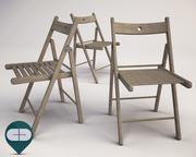 folding chair 3d model