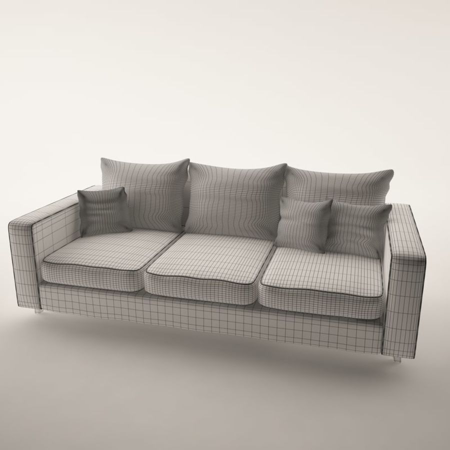 Furniture Set royalty-free 3d model - Preview no. 3