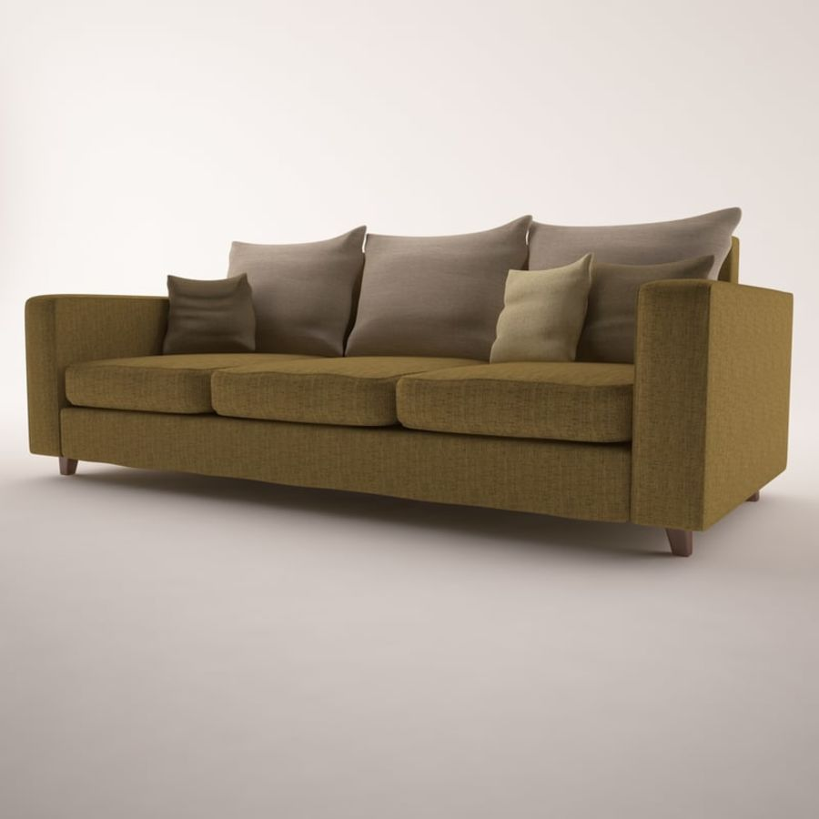 Furniture Set royalty-free 3d model - Preview no. 4