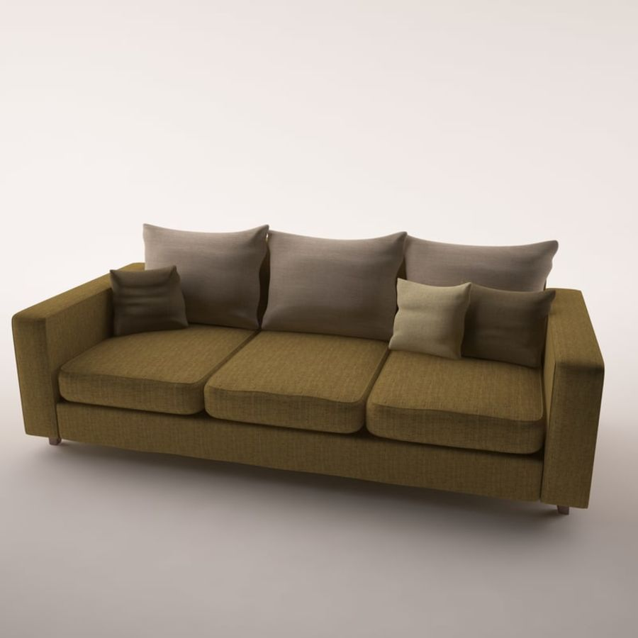 Furniture Set royalty-free 3d model - Preview no. 2