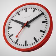 Mondaine Clock 3d model