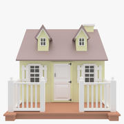 small Lodge For Children. 3d model