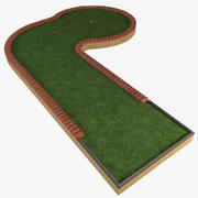 Mini Golf Hole 2 3d model