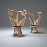 Fan-chair 3d model