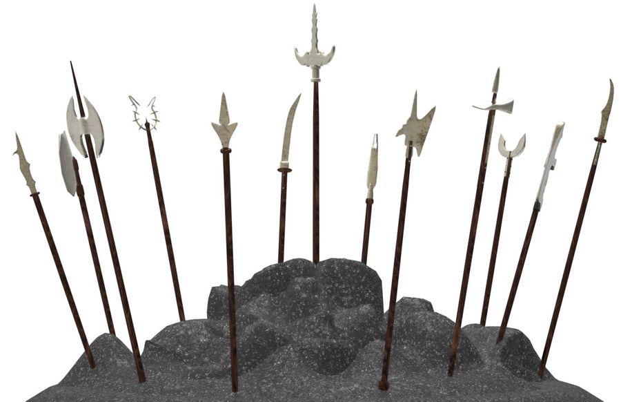Old_Weapons royalty-free 3d model - Preview no. 2