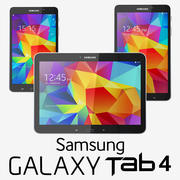 Samsung Galaxy Tab 4 Collection 3d model